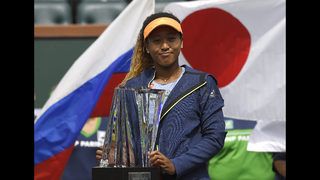 Naomi Osaka on her way up with first pro tennis title