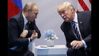 GOP senators criticize Trump for congratulating Putin on win