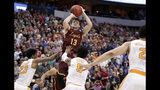 NCAA Latest: Florida State has halftime lead on Gonzaga