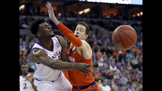 Sanity check: Kansas holds on for 80-76 win over Clemson