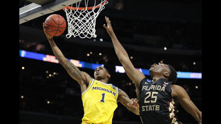 Oh Blue!: Michigan nips Florida St 58-54 to reach Final Four