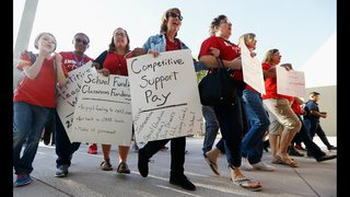 Possibility of first-ever strike divides Arizona teachers