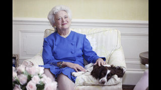 Former President George HW Bush buoyed by tributes to wife