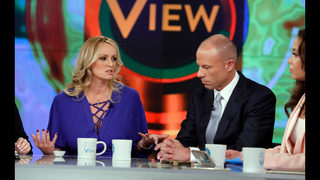 The Latest: Judge sets Friday hearing in Stormy Daniels case