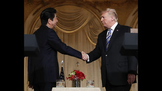 Trade issues expose the limits of Trump-Abe