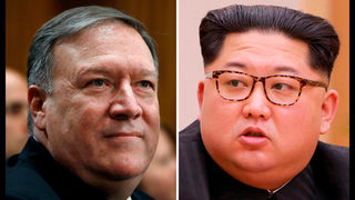 The Latest: AP source: Pompeo, Kim discussed held Americans