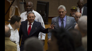 The Latest: Castro says Diaz-Canel may also gain party post