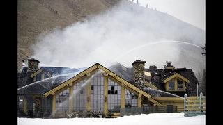 Fire damages lodge at Idaho