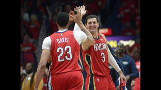 Mirotic, Davis lead Pelicans to 3-0 series lead over Blazers