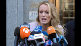 The Latest: Stormy Daniels
