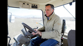 The Latest: Romney promises hard campaign in Senate primary