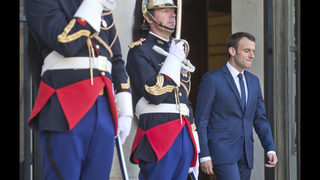 Macron to push Trump on Iran deal, says there