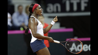 Keys sends US into second straight Fed Cup final