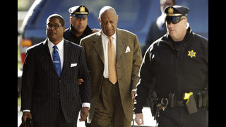 The Latest: Cosby defense blocked from using deposition