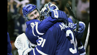 Andersen helps Maple Leafs beat Bruins 3-1 to force Game 7