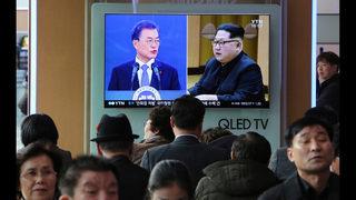 Korean leaders seek to control optics at historic summit