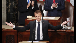 Macron tells Congress of