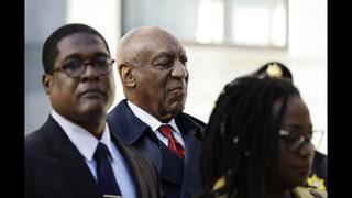 The Latest: Comedian Buress lauded online over Cosby verdict