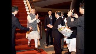 China-India leaders meet amid border tensions