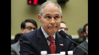 EPA chief gets congressional scolding over ethical lapses