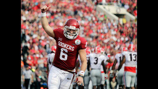 Top gun: Browns select QB Baker Mayfield No. 1 in NFL draft