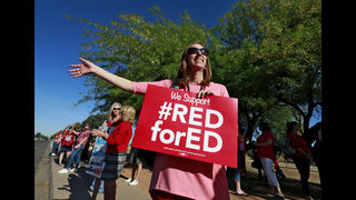 Thousands of teachers in Arizona, Colorado to protest