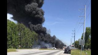 Authorities investigate cause of military plane crash that left 9 dead