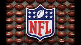 """FILE - In this Nov. 30, 2017, file photo, an NFL logo is displayed at the opening of """"NFL Experience"""" in Times Square, New York. Now that the U.S. Supreme Court has cleared the way for states to legalize sports betting, the race is on to see who will referee the multi-billion-dollar business expected to emerge from the decision. Hours after the court ruled on Monday, May 14, 2018, the NFL called time-out and asked for an official review. The league called on Congress to """"enact a core regulatory framework for legalized sports betting."""" (AP Photo/Seth Wenig, File)"""