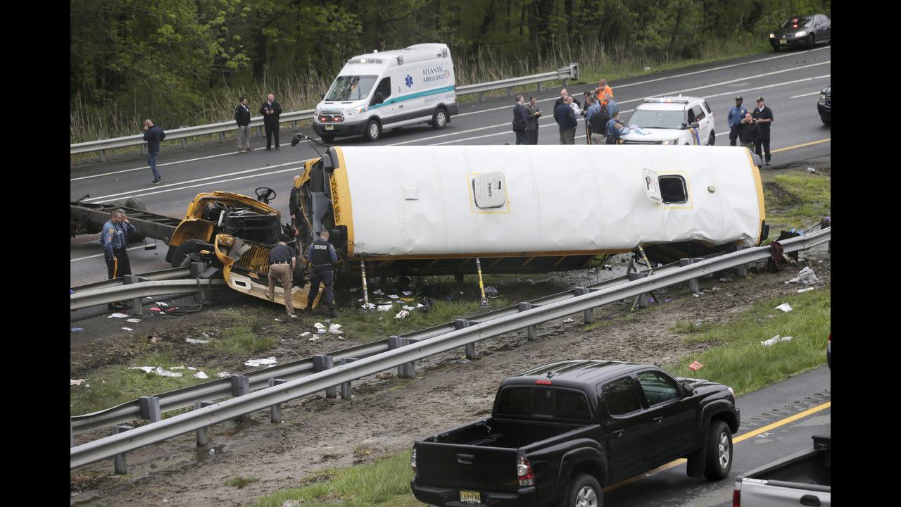 Investigators probe cause of school bus crash that killed 2   Boston