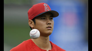 LEADING OFF: Ohtani takes mound, Romo starts again for Rays