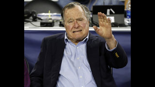 Former President George H. W. Bush taken to hospital