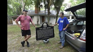 Photos: Jacksonville home of Lynyrd Skynyrd becomes part of history