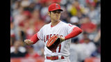 Ohtani pitches Angels to skid-snapping win over Rays, 5-2