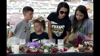 The Latest: 1st funeral set for Texas school shooting victim