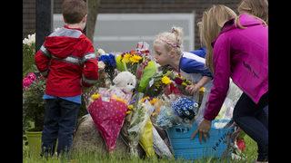 Funeral service held for girl killed in school bus crash