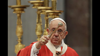 LGBT community cheers pope