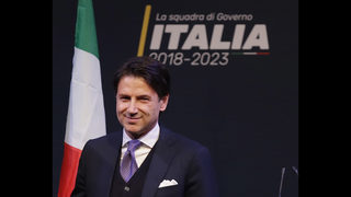 Italy steps toward populist government as Conte gets mandate