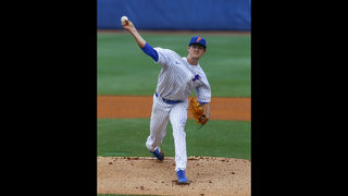 Mace, Byrne pitch Florida past LSU, 4-3, in SEC tourney