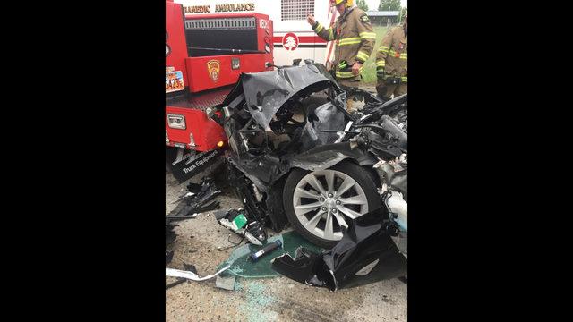 APNewsBreak: Tesla in Autopilot sped up before Utah crash   Boston