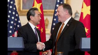 China calls US withdrawal of drills invite