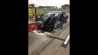 APNewsBreak: Tesla in Autopilot mode sped up before crashing