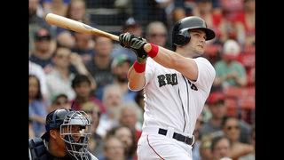Benintendi, Moreland carry Red Sox past Braves 8-6