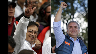 Conservative, leftist head to contentious runoff in Colombia