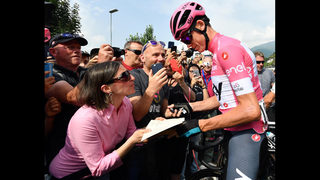 Froome effectively seals Giro title in penultimate stage