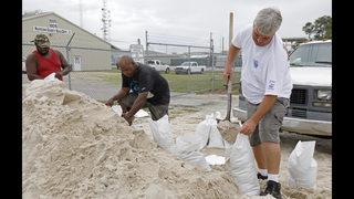 Florida panhandle braces as storm Alberto gains new strength
