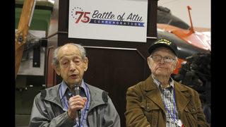 Bloody but forgotten WWII battle still haunts soldiers
