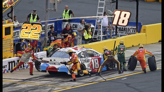Kyle Busch blows past field for 1st Charlotte points win