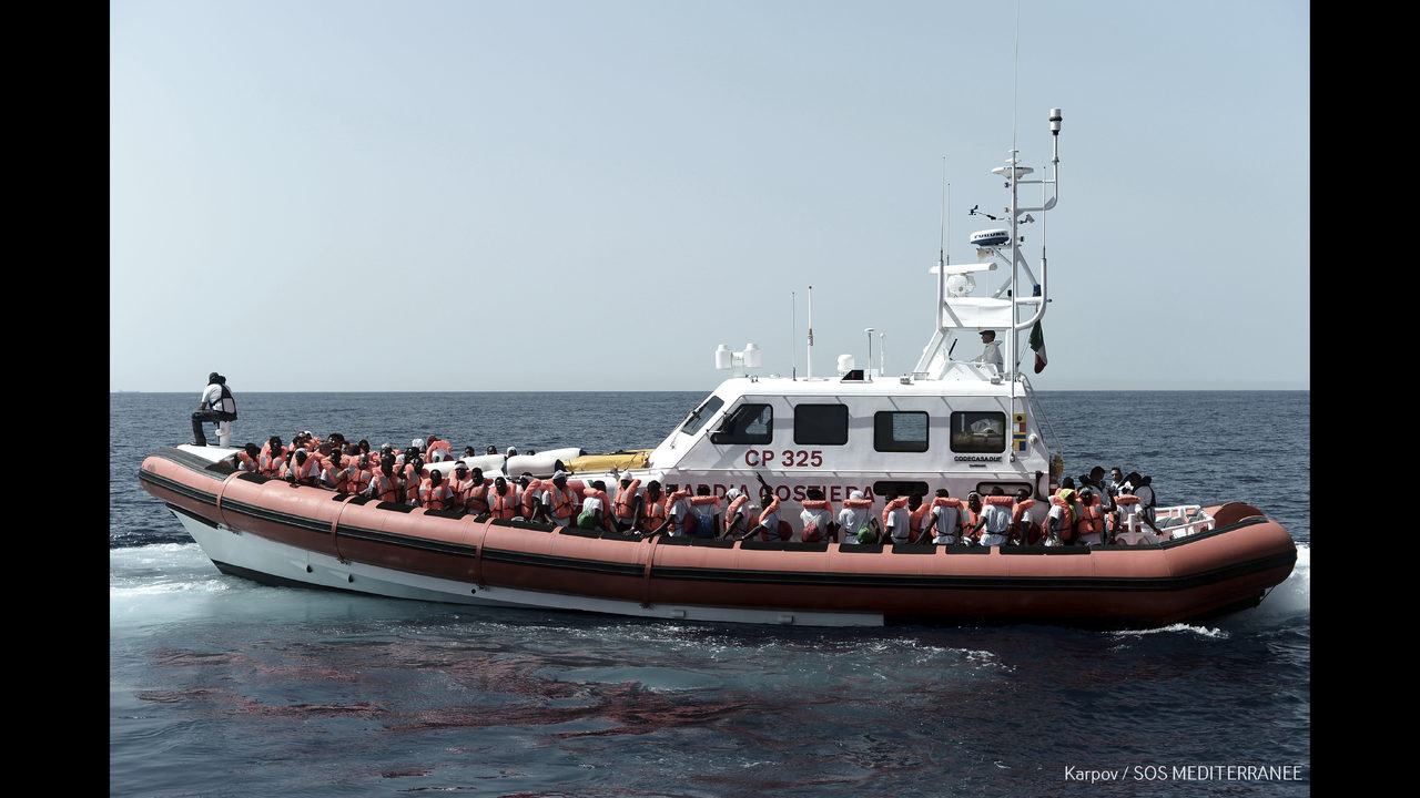 The Latest: Aid expert: Europe\'s migrant policy still at sea ...