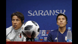 Japan team at World Cup troubled by earthquake, hotel alarm