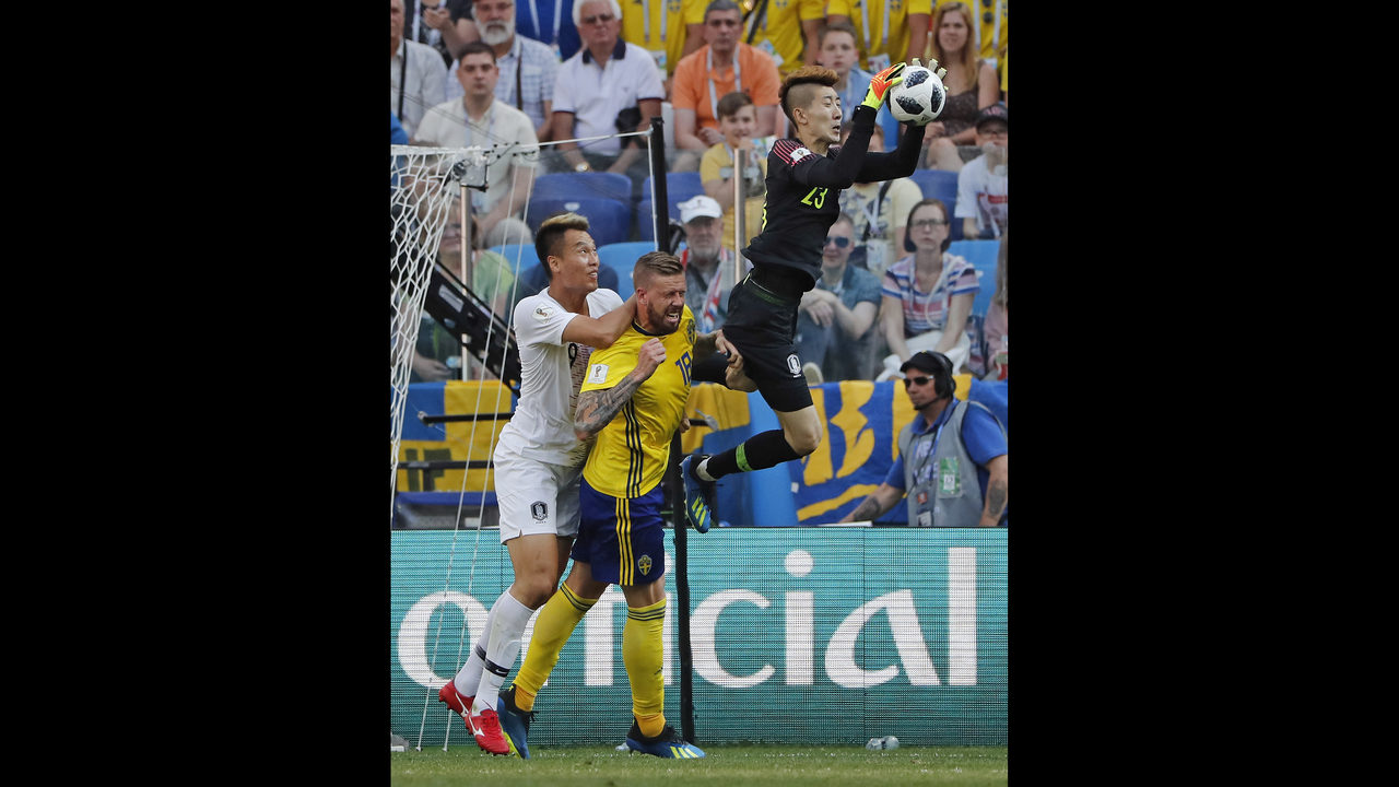 The Latest Sweden South Korea 0 At Halftime World Cup Registrasi Tournament  Fifa 3 Indonesia Boston 25 News